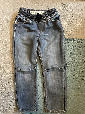 Primark Boys Blue Pull On Jeans Age 4-5yrs