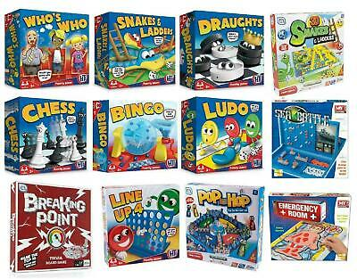 Classic Traditional Family Board Games Kids Childrens Indoor Gift Toys Fast&Free