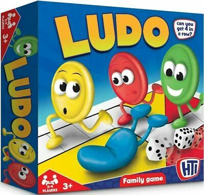 LUDO Classic Traditional Family Board Games Kids Childrens Indoor Gift Toys F&F