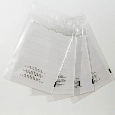 500 6x9 1.5 Mil Bags Resealable Clear Suffocation Warning Poly OPP Cello Bag