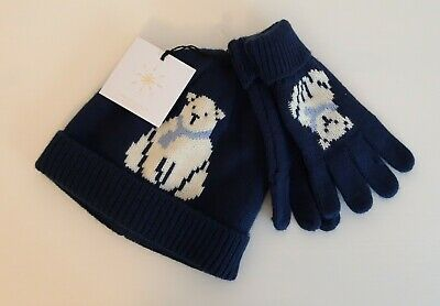 John Lewis Boys Hat And Gloves Size 6 - 8 Years BNWT RRP £16
