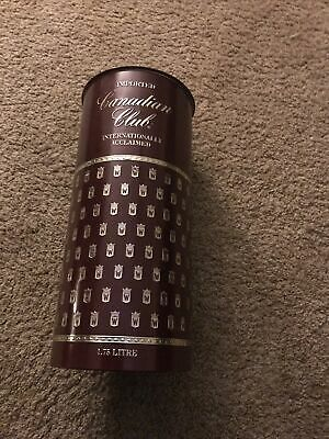 Canadian Club Whiskey Decorative Container
