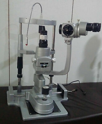 3 step Slit Lamp with alumiuim base w 220V power suppy