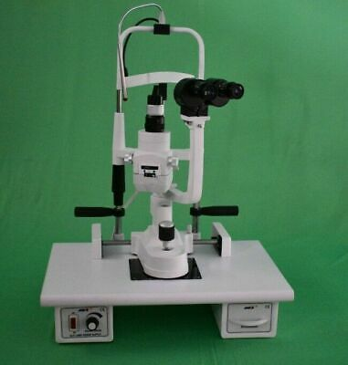 MIKO MSL-5S/5 step Slit Lamp ziess type with wooden base & 220V power supply