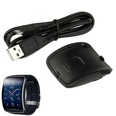 Dock Charger Cradle For Samsung Galaxy Gear S Smarts Watch SM-R750 K JM G3EXATDL