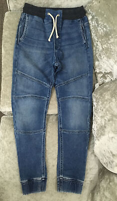 Older Boys H&M Jogger & Denim Cuffed Jeans 11-12 Years