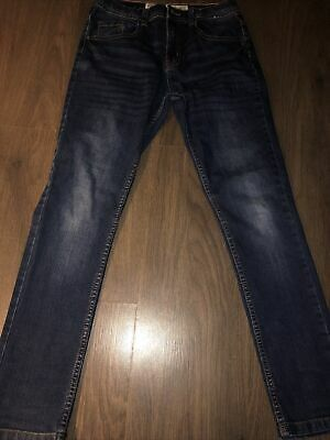 "Boys Denim Co Stretch Skinny Jeans Age 12-13 Vgc 28"" W X 26"" L"