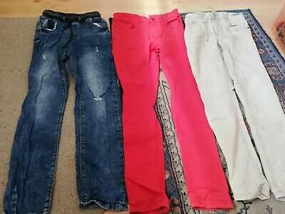 Next Aged 11 Years Boys Three Pairs Of Jeans