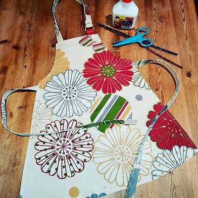 Toddlers Childs Apron Pinny Arts Crafts Cooking (handmade) Prestigious Preschool