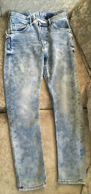 Boys H&M Super Soft Skinny Acid Wash Jeans 11-12 Years