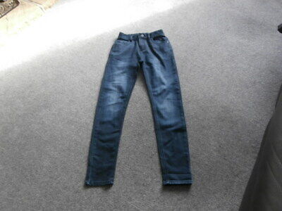 Next Boys Blue DENIM  Skinny Jeans Age 12 Years  NEW