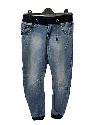 Ben Sherman boys Blue Jeans Age 11-12 elasticated waist