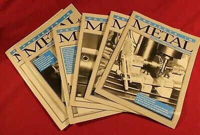 6 Magazine Lot of Projects in Metal Paperback Magazine 1997 Set