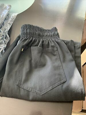 chef pants Unisex - Lot Of 4 - Size Small