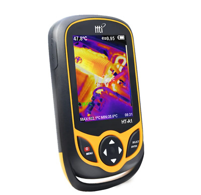 Hti HT-A1 Thermal Imaging Camera, Thermometer Infrared Camera 220x160 3.2'' TFT