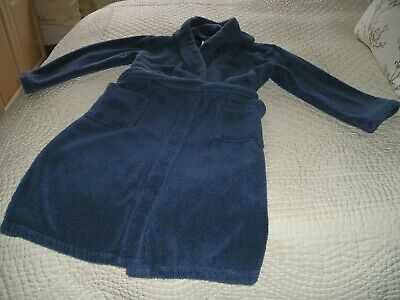 The Little White Company boys dressing gown age 11-12 good condition