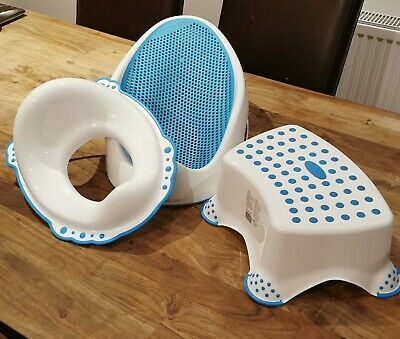 Bath Seat, Toilet Seat And Step