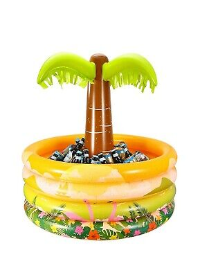 iBaseToy Inflatable Palm TreeDrinks Beer Cooler, For Hawaiian Themed Parties BBQ