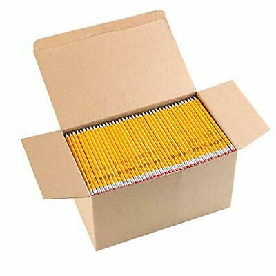 Wood-Cased #2 HB Pencils Yellow Pre-sharpened Class Pack 1000 pencils