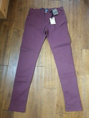 New Tagged Boys Jeans 32 Long Rrp £19.99 Skinny Fit Industrialize