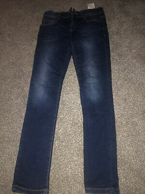 Boys skinny fit dark blue jeans from Zara, age 9-10, excellent condition