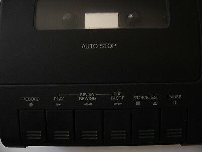 Radio Shack 43-473 Telephone Cassette Recorder Tested Works Great! Barely Used!!
