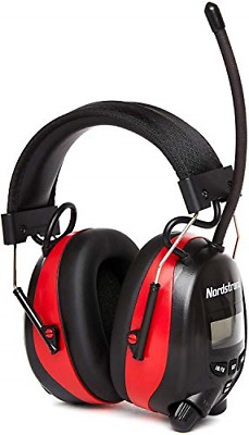 Nordstrand Ear Defenders Protection Muffs Headphones - AM/FM Radio - Phone Jack