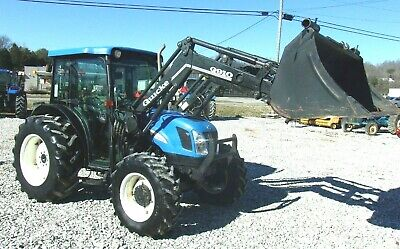 2005 New Holland TN75DA Loader 4x4 *3189 Hrs. *FREE 1000 MILE DELIVERY FROM KY