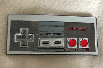 Large Metal Nintendo Controller Belt Buckle