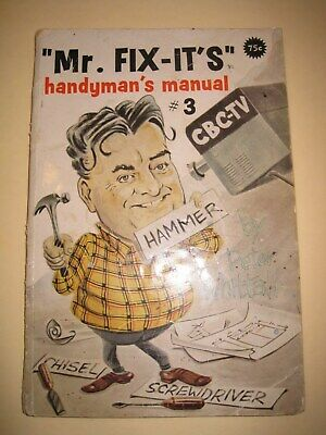 Canada 1960 Mr Fix-It Handyman Manual #3 with Peter Whittall