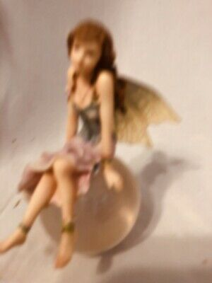 "Miniture Fairy Bubble Rider Figurine.""Moonglimmer"""