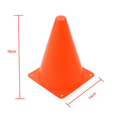 10pcs With Hole Home Traffic Cone Outdoor Training Equipment Barrier Bucket
