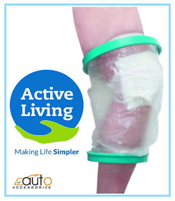 Adult Leg & Knee Cast Bandage Waterproof Protector Cover Bath Shower