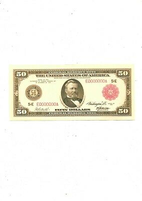 1914 $50 (reproduction)
