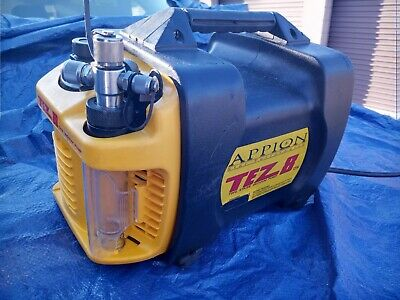 Appion Tez 8 Cfm Two Stage Vacuum Pump As-Is