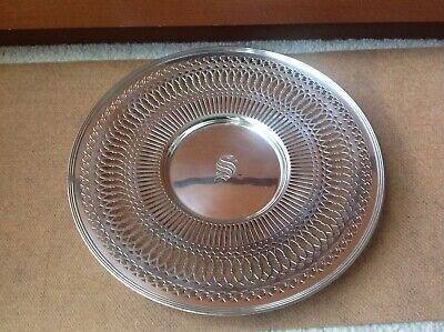STERLING Silver Reed & Barton Silver Tray-RARE! Polished #558A