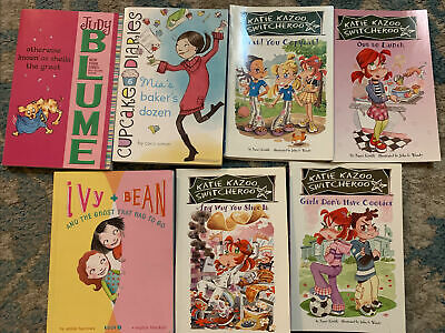 Childrens Chapter Books - Lot of 7- Youth Young Adult-3rd 4th Grade-Girl