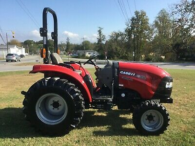 Very Nice 2018 Case IH 35C 4X4 Tractor with Only 640 Hours