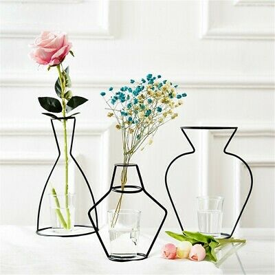 Minimalist Abstract Black Lines Designed-Vase For Home Decoration Ornament Craft