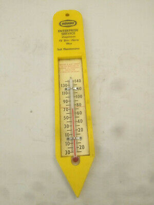 Vtg MADE IN USA Agway Enterprise Sevice Soil Thermometer