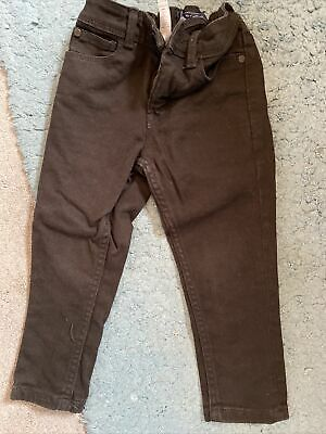 Next Boys Black Skinny Jeans Age 3yrs