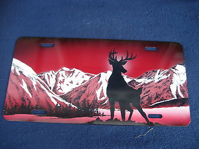 Stag Deer  Picture  Plate  (Pk127)