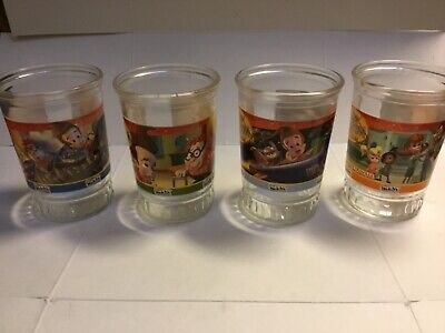 Jimmy Neutron Jelly Jar Glasses