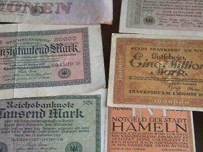 nice lot of 10 germany notes