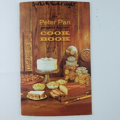 Vintage 1963 Booklet The Peter Pan Peanut Butter Cook Book - Product Ad 1963
