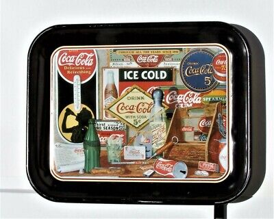 "Coca Cola Tray ""Through All The Years Since 1886""  13.25"" x 10.5"""