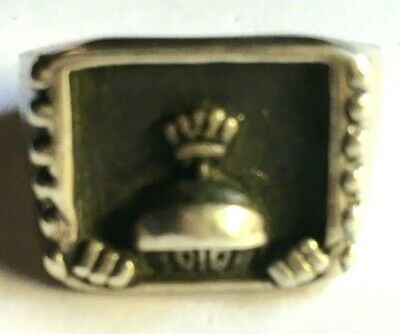 Original Warner Bros Marvin the Martian Rare Collectible Sterling Silver Ring