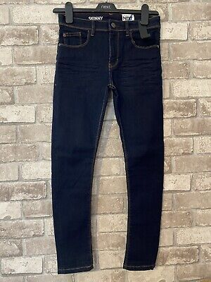 Boys Next Dark Blue Skinny Jeans Brand New With Tags Aged 10 Years