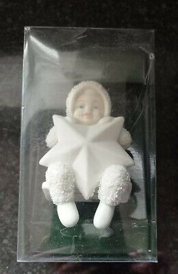 Department 56, Snowbabies, 6001887 2018 Swinging on a Star Babies Ornament