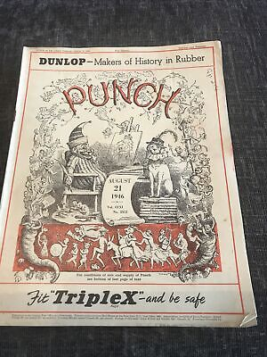 Punch Magazine In Good Condition August 21 1946